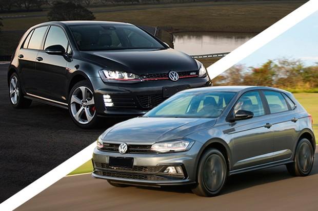 Volkswagen Golf GTI é um páreo duro para o Polo GTS (Foto: Divulgação/Autoesporte)