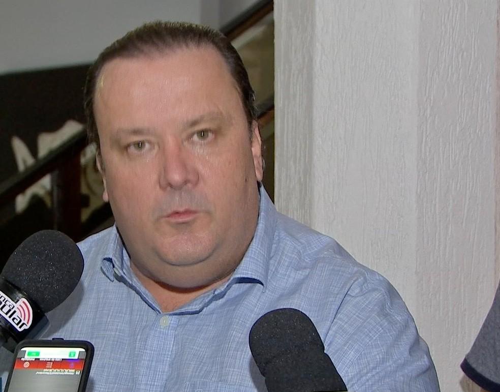 Reinaldo Morais, candidato ao Senado  — Foto: TVCA/Reprodução