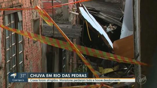 'Tive que quebrar a janela pra passar, senão a gente morreria', diz morador de casa inundada em Rio das Pedras