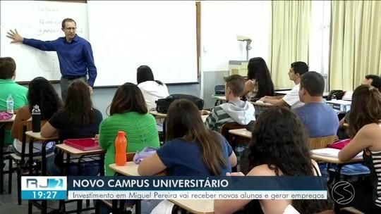 Miguel Pereira vai receber campus universitário