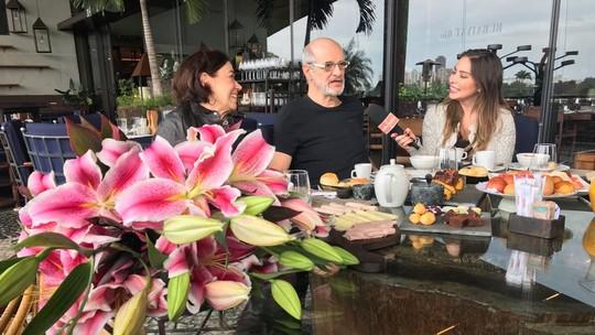 Lilia Cabral e Marcos Caruso lembram da novela 'Páginas da Vida' no 'Reencontro Marcado'
