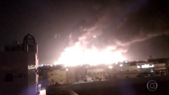Coalizão saudita acusa o Irã por ataque a refinarias