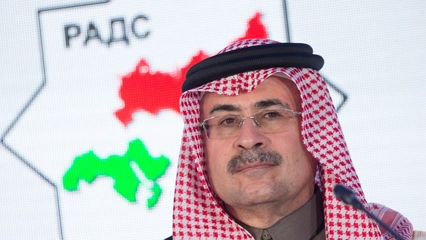 O presidente-executivo da Saudi Aramco, Amin Nasser (Foto: Sergei Bobylev\TASS via Getty Images)