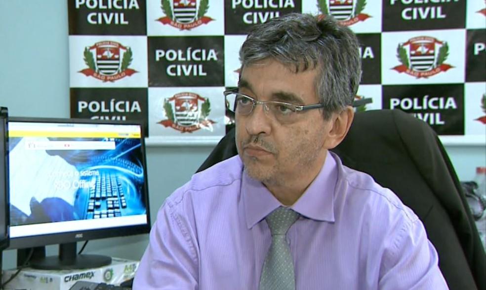 Wanir José da Silveira, delegado na Delegacia Seccional de Franca (SP) — Foto: José Augusto Júnior/EPTV