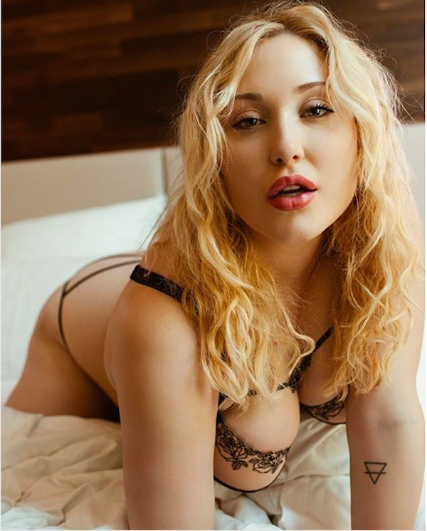 A modelo Hayley Hasselhoff (Foto: Instagram)