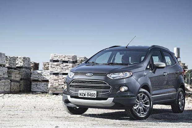 Novo Ford EcoSport (Foto: Fabio Aro)