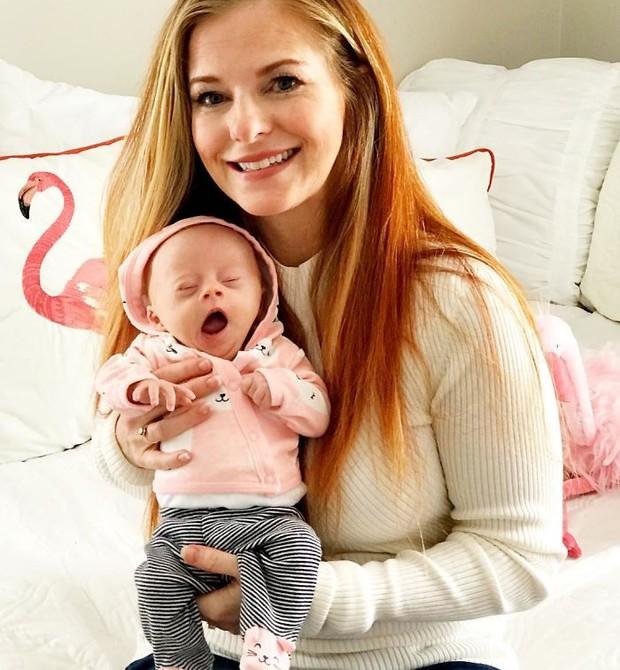Jéssica e sua Gwen (Foto: Reprodução)