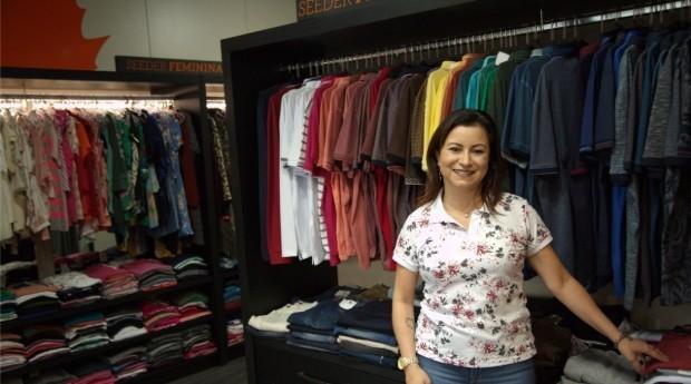 Sandra abriu a empresa em 2013 (Foto: Maurício de Souza)