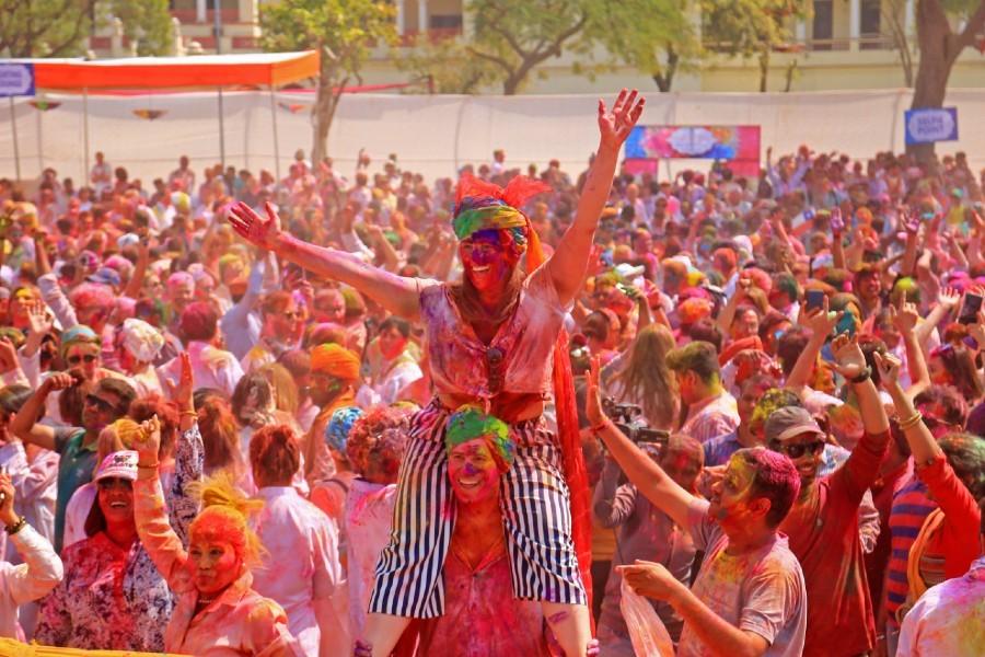 Essas imagens do HOLI Festival vão fazer você querer comprar uma passagem para a Índia agora (Foto:  )