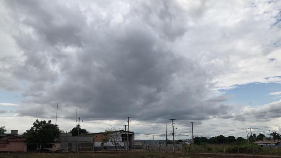 A previsão é de chuva para a região norte do Tocantins — Foto: Lorena Aguiar/TV Anhanguera