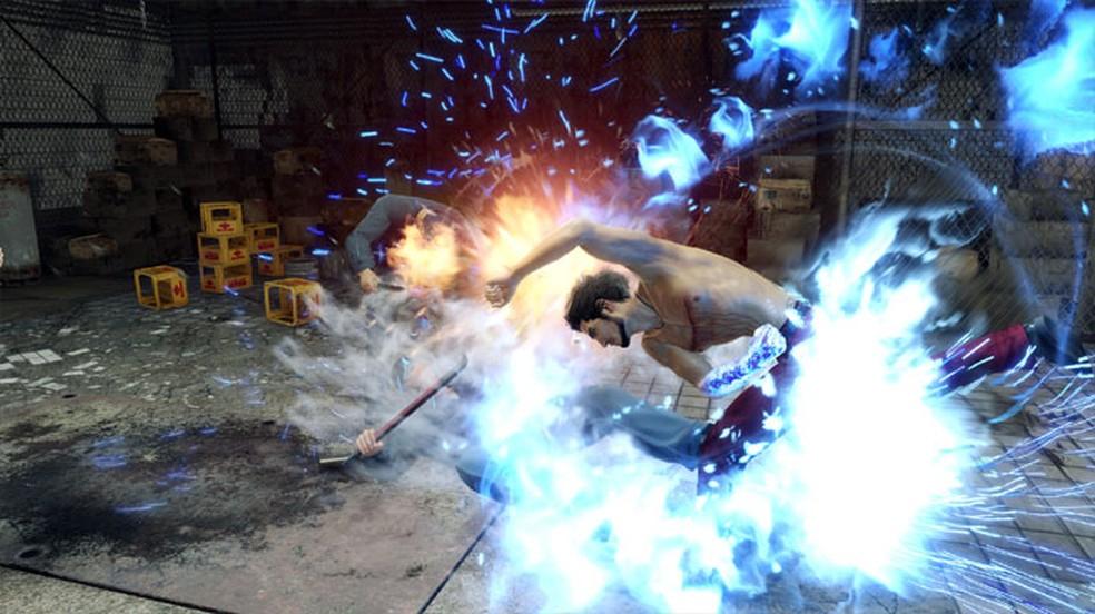 Yakuza: Like a Dragon traz um estilo de jogabilidade diferente para a série como um RPG tradicional — Foto: Reprodução/Steam