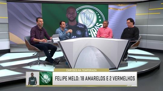 """Casão vê Deyverson """"contaminado"""" por Felipe Melo e critica volante: """"É um risco para quem joga com ele"""""""