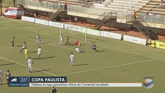 Comercial deve corrigir passe e saída de bola para sequência na Copa Paulista, diz goleiro Iago