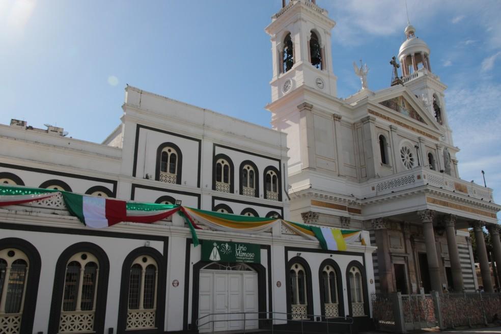 Basílica Santuário de Nazaré — Foto: Reprodução/Ascom Basílica