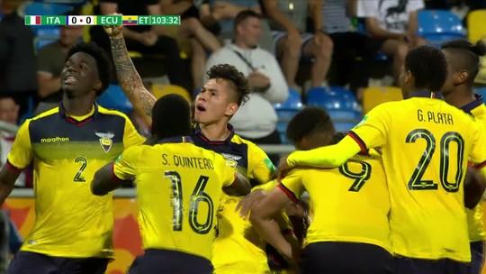 Equador faz história no Mundial sub-20
