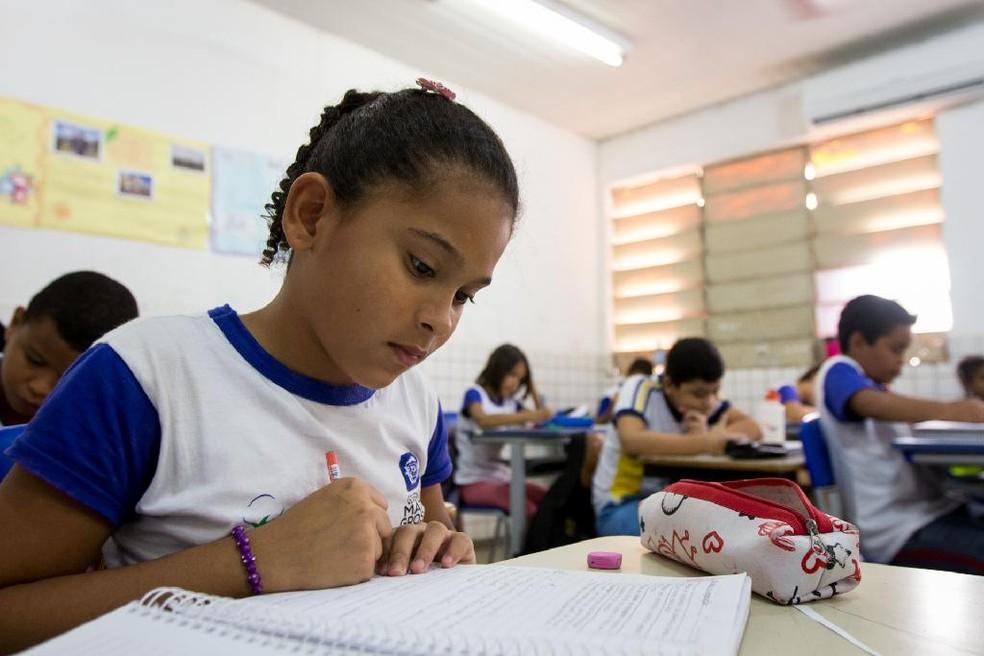 Mais de 390 mil alunos devem voltar às aulas na rede estadual de MT nesta 2ª — Foto: Junior Silgueiro Seduc/MT