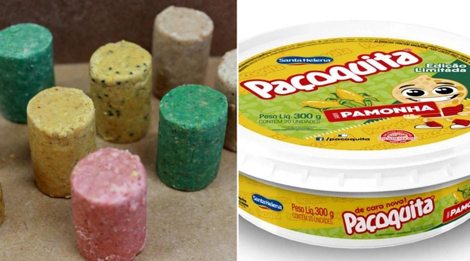 Os diferentes sabores da Paçoquita. (Foto: Divulgação)