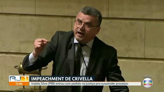 Vereador Inaldo Silva entra com pedido para suspender processo de impeachment de Crivella