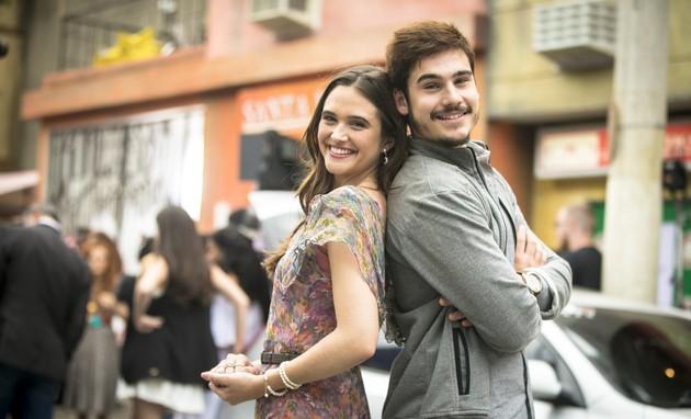 'O tempo não para': elenco é proibido de entrar com celular no estúdio (Globo/João Miguel Júnior)