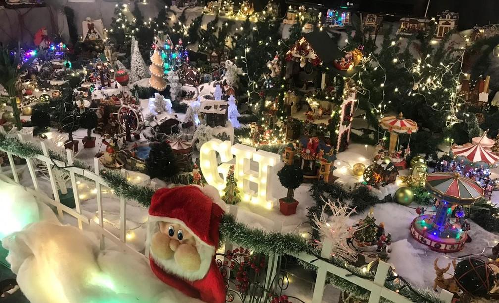 Loja de iluminação e decoração — Foto: Adriana Sypniewsky/Arquivo pessoal