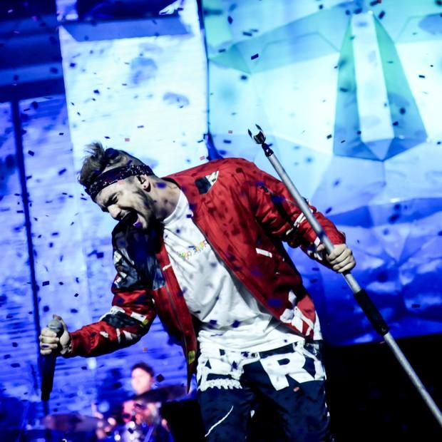 Luan Santana faz show em SP (Foto: Marcos Ribas/Brazil News)