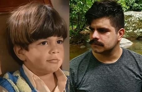 Pedro Agum interpretou o caçula de Álvaro, Fafá. Agora, é professor de matemática TV Globo / Reprodução