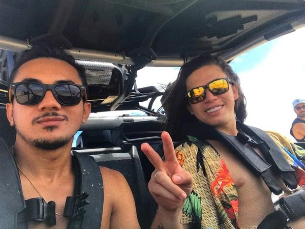 Os irmãos Hidelvan Nunes e Whindersson Nunes (Foto: Reprodução/Instagram)