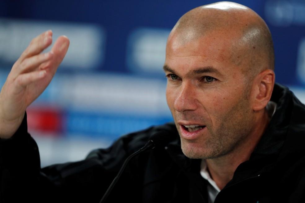 Zidane elogiou Renato Gaúcho como jogador, mas disse que CR7 é muito superior (Foto: Reuters)