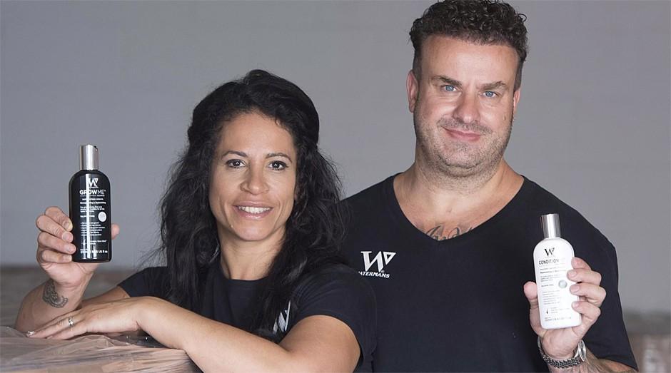 Gail Waterman e seu marido, Matt (Foto: Divulgação )