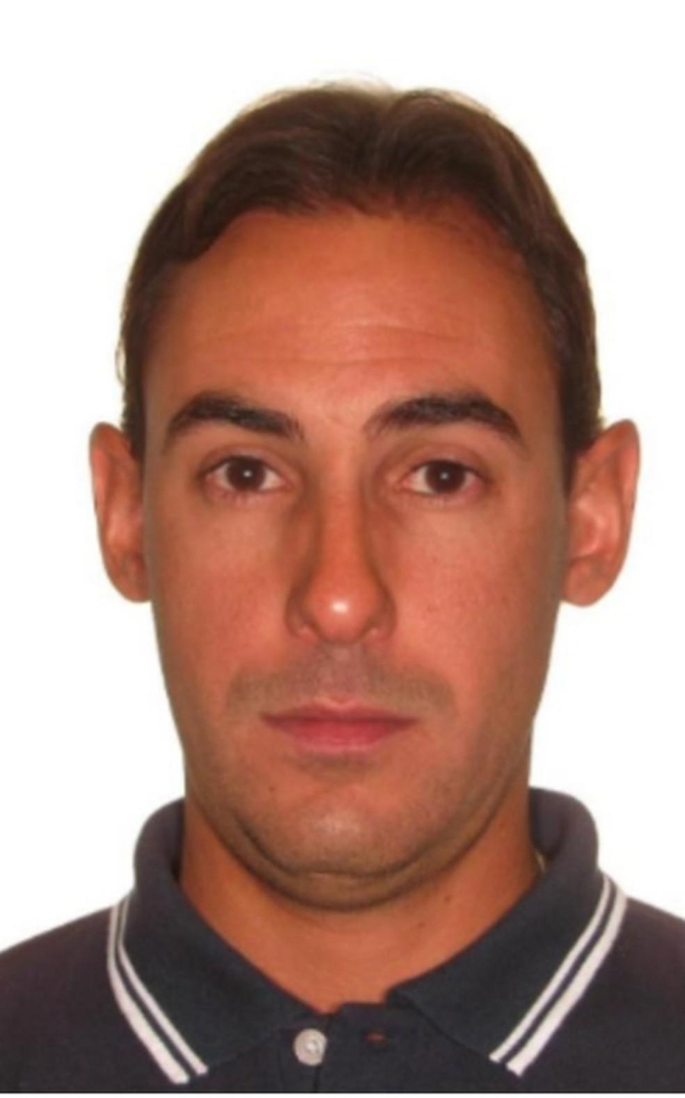 Diego Nunes Freitas, 40 anos, suspeito de matar a ex-companheira Rosileia Pereira — Foto: Arquivo pessoal