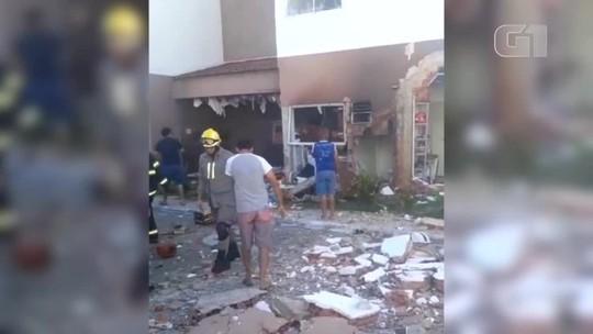 Explosão em apartamento deixa 2 homens feridos em Teresina