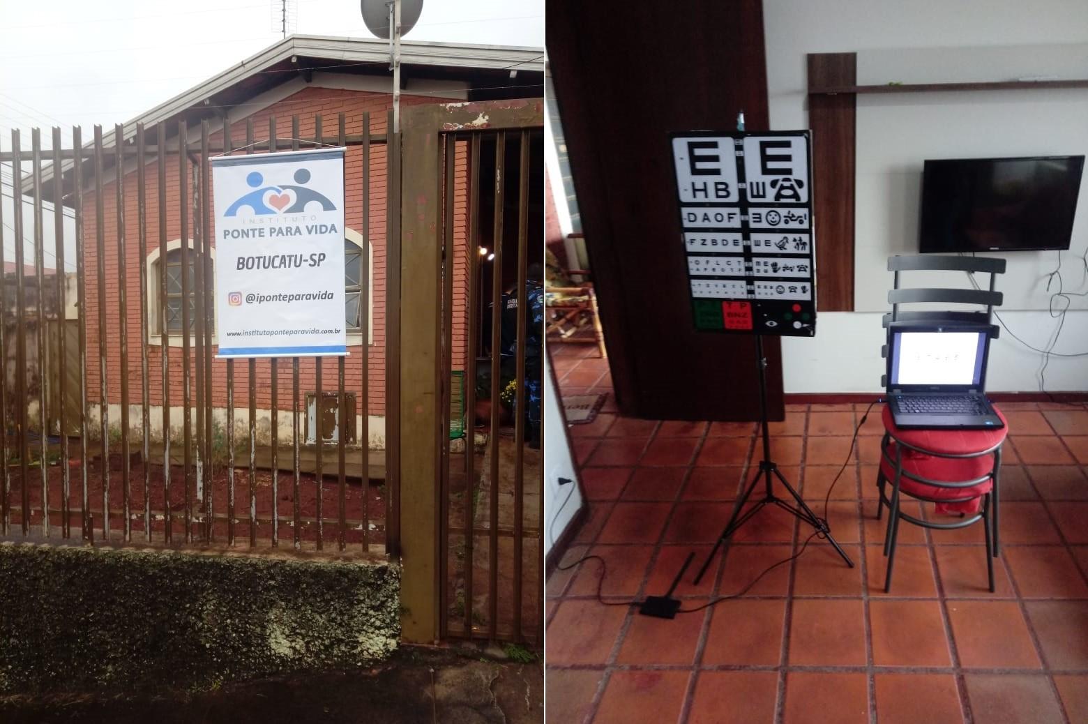 Polícia apreende equipamentos e receitas em casa que funcionava como consultório oftalmológico em Botucatu