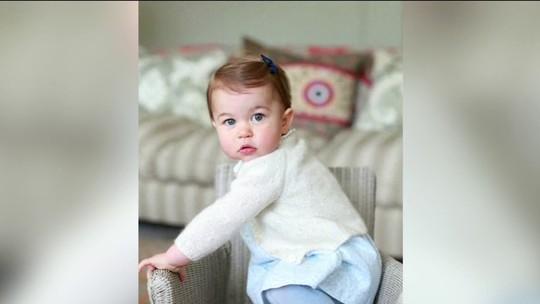 Princesa Charlotte comemora 1º aniversário nesta segunda