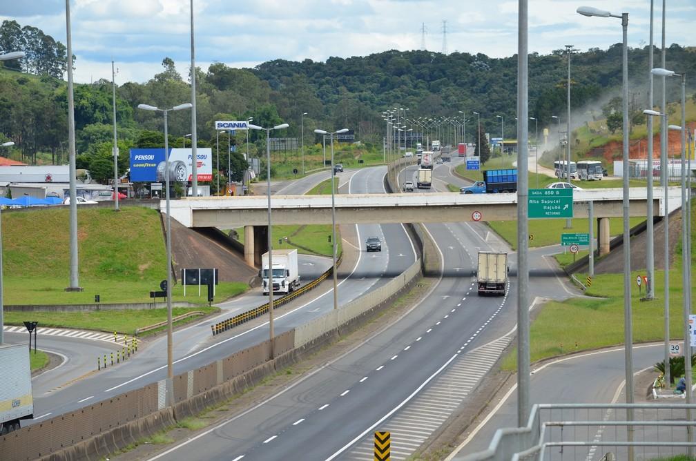 Rodovia Fernão Dias aparece na 21ª posição em ranking de melhores rodovias (Foto: Régis Melo / G1)