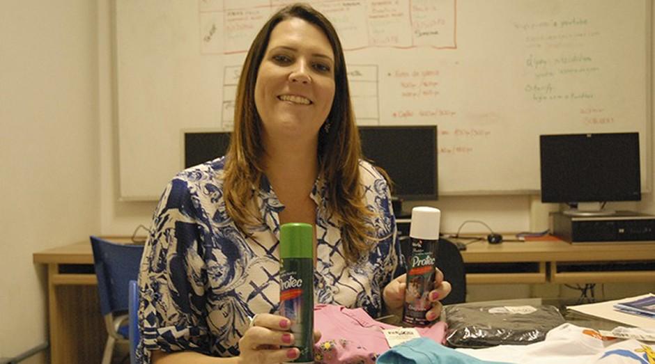 Fernanda Checchinato é a CEO da Aya Tech (Foto: Divulgação)