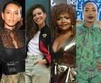 Taís Araújo, Bruna Linzmeyer, Gaby Amarantos e Mariana Nunes | TV Globo