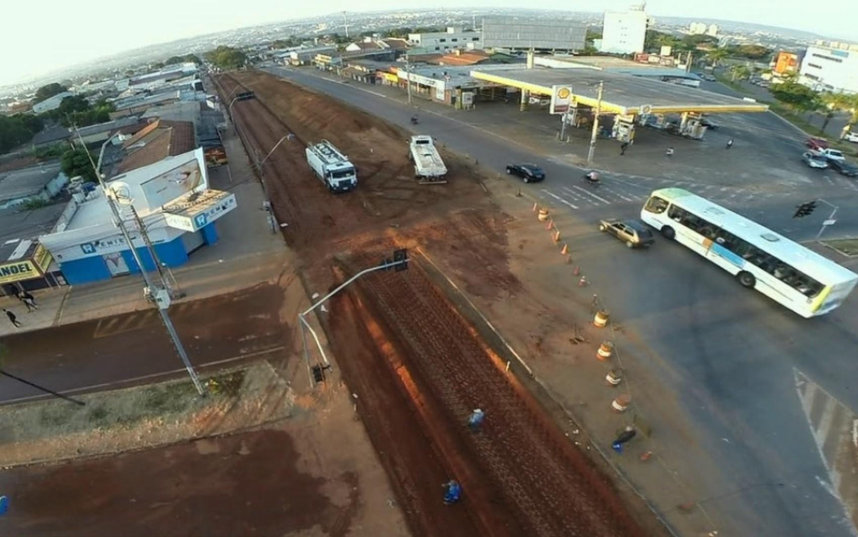 Trecho da Avenida São Paulo será interditado nos dois sentidos para obra de viaduto, diz Prefeitura de Aparecida de Goiânia