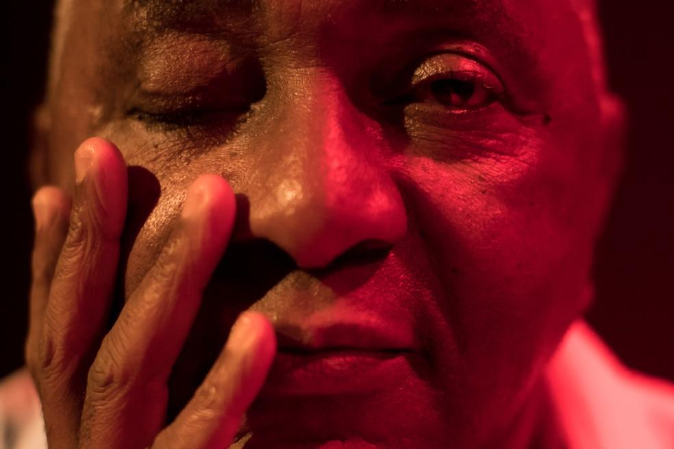 Exposição dos fotógrafos Bruno Ferraro e Fábio Alcover  registra artistas de diferentes linguagens e cujos caminhos se confundem com os de Londrina. — Foto: Fábio Alcover.