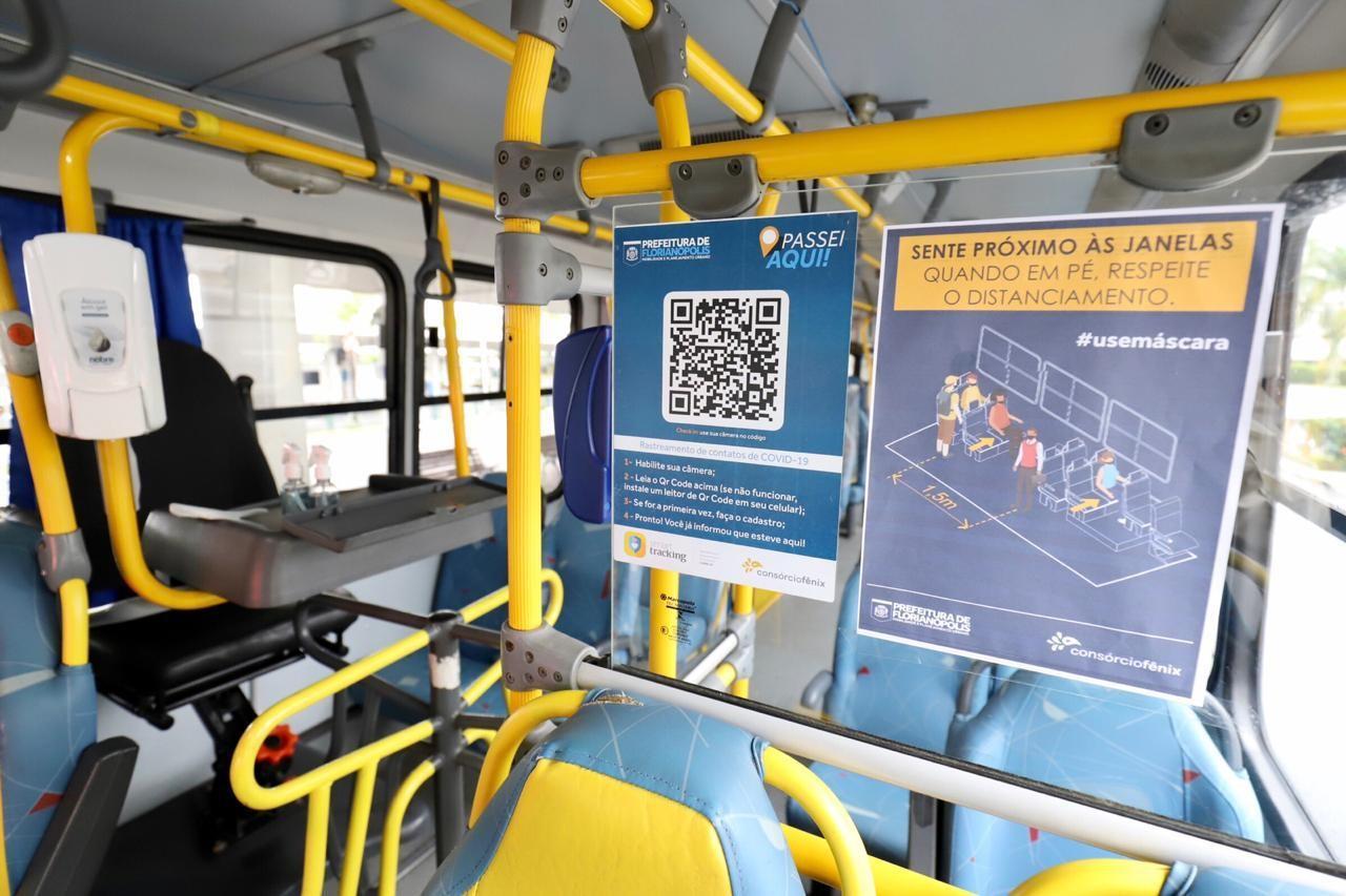 Transporte coletivo é retomado na Grande Florianópolis nesta segunda-feira