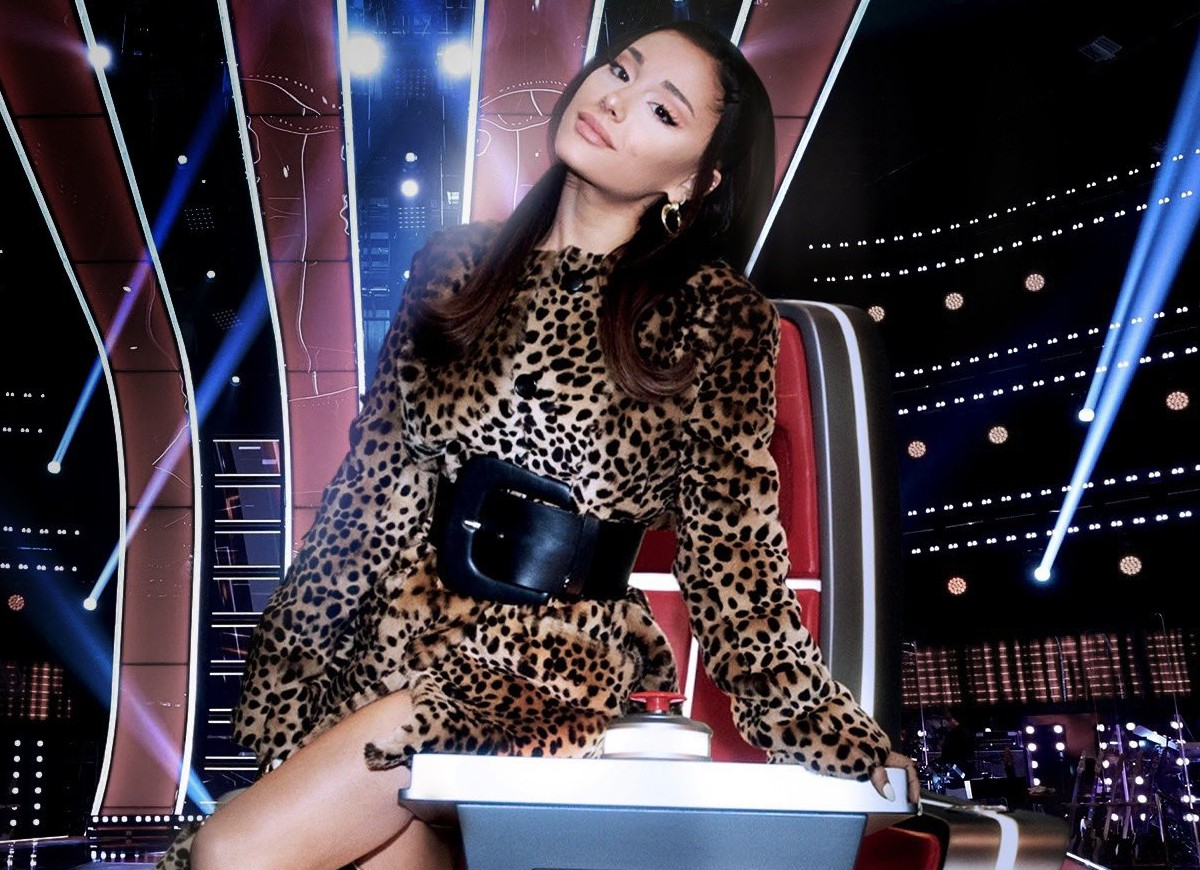 Ariana Grande é nova jurada do The Voice (Foto: Reprodução/Twitter)