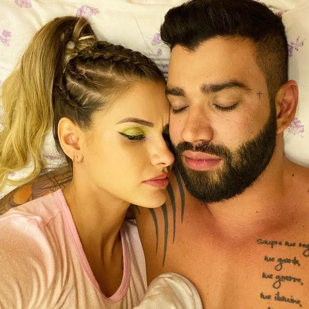 Andressa Suita e Gusttavo Lima (Foto: Instagram/Reprodução)