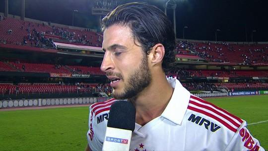 """""""Precisamos ter tranquilidade para vencer"""", diz Hudson após empate do São Paulo"""
