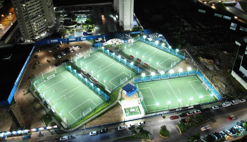 Prefeitura libera reabertura de escolas de futebol (Arquivo) — Foto: Divulgação/PSG