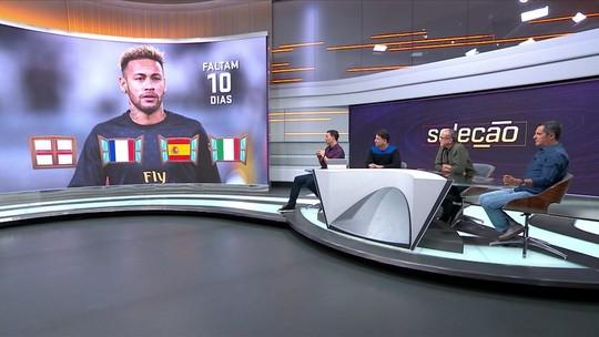 Comentaristas do Seleção criticam indefinição de Neymar e veem Real Madrid como melhor destino