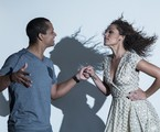 Roberta Almeida dança zouk com o parceiro Thalles Andrade | Leo Martins