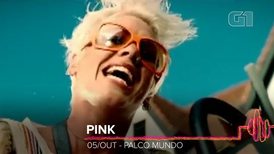 'Just give me a reason', da Pink, e 'It's my life', do Bon Jovi serão os hits do Rock in Rio 2019
