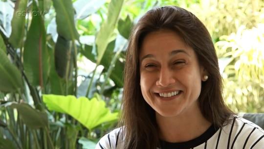 Fernanda Gentil conta que celular bombou de mensagens após o anúncio do retorno de Sandy & Junior
