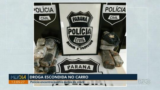 Três pessoas são presas por tráfico de drogas em Londrina e Cambé