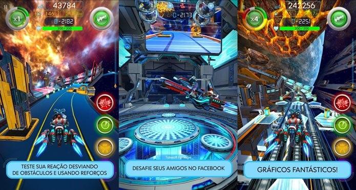 Glidefire é um jogo de corrida com gráficos incríveis (Foto: Divulgação)