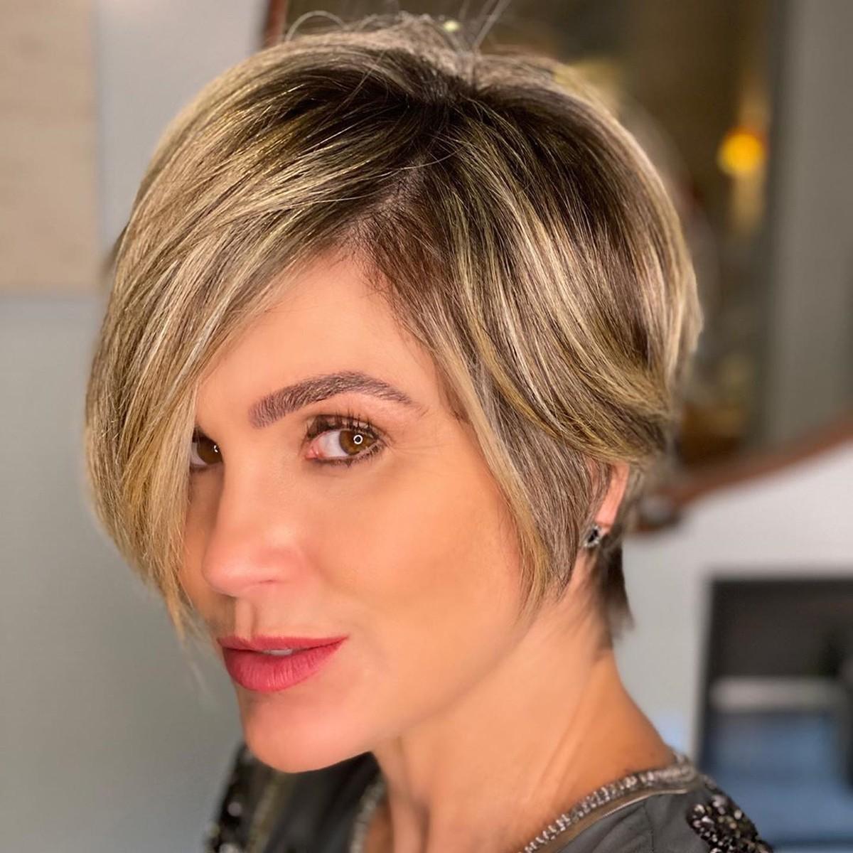 Flávia Alessandra surge de visual novo: 'Saudade de cuidar do cabelo' – gshow